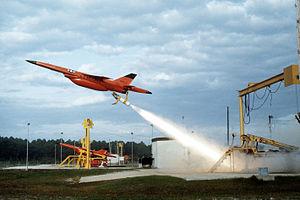 Ryan Firebee - BQM-34F RATO launch, Tyndall AFB 1982