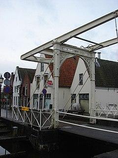 Baambrugge Town in Utrecht, Netherlands