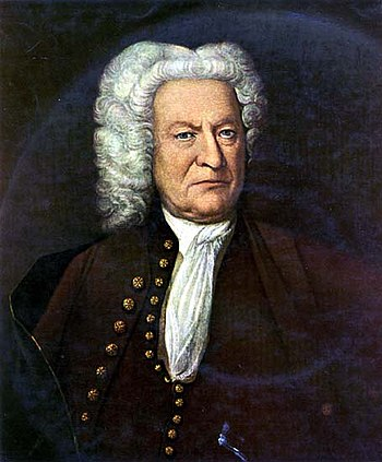 A portrait which may show Bach in 1750
