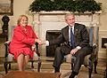 Bachelet and G.W.Bush 20060608 1.jpg