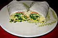 Bacon Kale Breakfast Burrito (8429773809).jpg