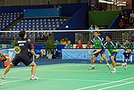 Match de badminton
