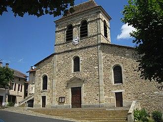 Bagnac-sur-Célé - The church in Bagnac-sur-Célé