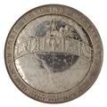 Baksida av medalj med bild av stjärnkarta - Skoklosters slott - 99623.tif
