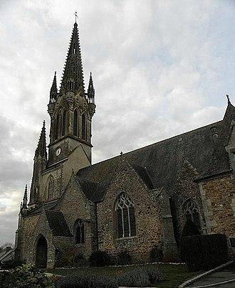 Balazé - Image: Balazé (35) Église 02