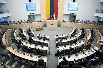 Seimas - Image: Baltijas Asamblejas 31.sesija Viļņā (8169464170)