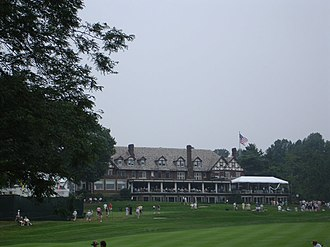 Baltusrol Golf Club - Clubhouse during the 2005 PGA Championship