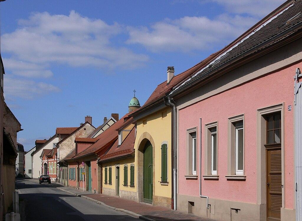 Bamberg Gärtnerviertel Mittelstraße