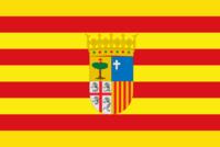 Resultado de imagen de bandera DE ARAGON