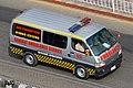 Bangladesh civil Toyota Hiace H100 ambulance (24985284034).jpg