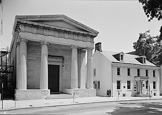 National Register of Historic Places listings in eastern Chester County, Pennsylvania - Image: Bankof Chester County