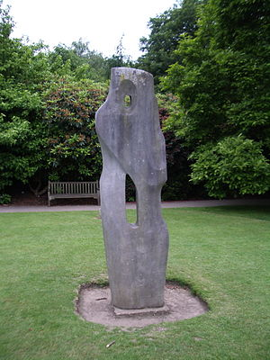 Barbara Hepworth - Image: Barbara Hepworth monolyth empyrean