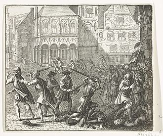 Barend Dircksz - Image: Barend Dircksz Wederdopersoproer 10 May 1535 in Amsterdam RP P OB 78.501