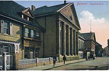 Bahnhof wuppertal barmen wikipedia for Wuppertal barmen hotel
