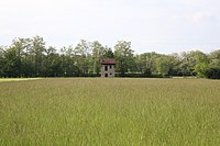 Barn for agricultural purpose in a field of the park Parco Alto Milanese in Legnano, Italy 02-05-2015.JPG