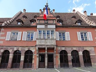 Barr, Bas-Rhin - The Town Hall