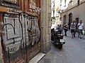 Barrio Gotico Street Scene - Barcelona - Spain (14305272256).jpg