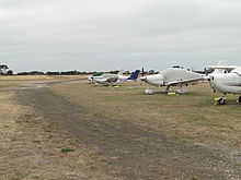 Barwon Heads airport plane parking.jpg