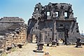 Basilica Complex, Qanawat (قنوات), Syria - East part- view through cella to interior southern façade - PHBZ024 2016 1498 - Dumbarton Oaks.jpg