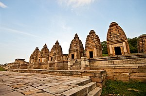 Bateshwar Hindu temples, Madhya Pradesh - Image: Bateshwar Temple Complex 3