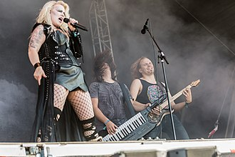 Battle Beast (band) - Rockharz Open Air 2018 in Ballenstedt, Germany. 2018