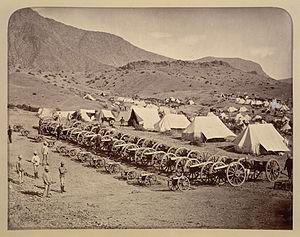 Battle of Ali Masjid - The Afghan guns, abandoned during retreat.