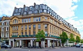 Westbourne Grove - Baynards on the corner with Chepstow Place, formerly Bradleys.