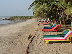 Beach Resort and Seaside Resort setting in Central region, Ghana.jpg