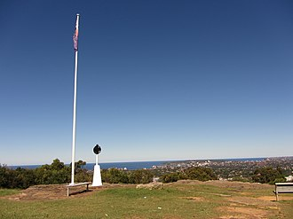 Beacon Hill, New South Wales - The outlook from the summit of Governor Phillip Lookout