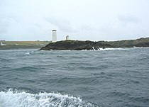 Beacon on Barrack Point, Inishbofin - geograph.org.uk - 199471.jpg