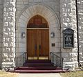 Beatrice Christ Church Episcopal W entrance.JPG