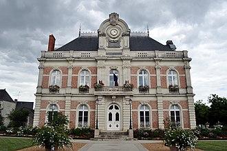 Beaufort-en-Anjou - The town hall in Beaufort