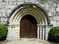 Beauregard-et-Bassac église Bassac portail.JPG