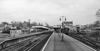 Beckenham Junction station - Beckenham Junction Station in 1961