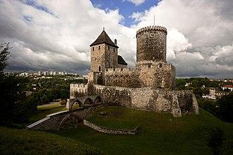 Zagłębie Dąbrowskie - Defensive castle in Będzin from the Middle Ages
