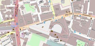 Beech Street - The immediate vicinity of Beech Street