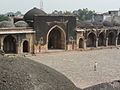 Begumpuri Masjid East gate from west pavilion roof (3009443473).jpg