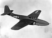 Bell YP-59A in flight 060913-F-1234P-008