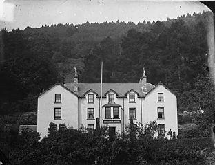Belle Vue Hotel, Trefriw