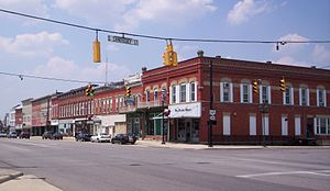 Bellevue, Ohio - East Main Street, downtown