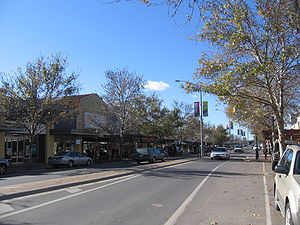 Benalla - Main street of Benalla