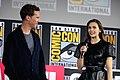 Benedict Cumberbatch & Elizabeth Olsen (48470890276).jpg