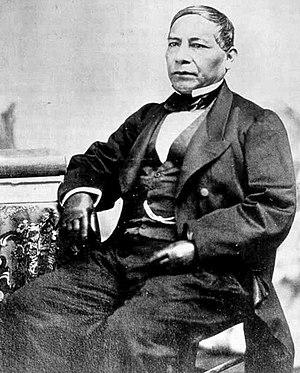 Benito Juárez - Daguerreotype of Benito Juárez as president of Mexico.