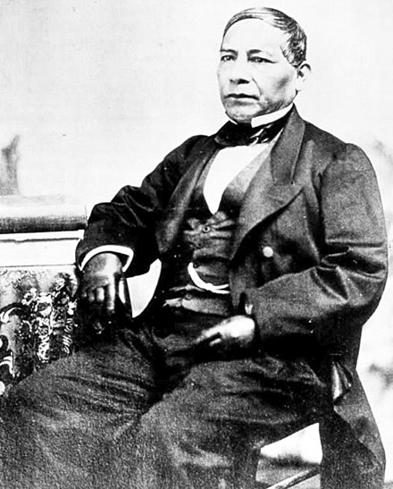 Daguerreotype of Benito Juarez as president of Mexico. Benito Juarez 1.jpg