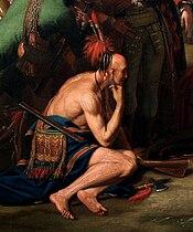 Den ædle vilde overværer James Wolfes død, af Benjamin West 1770