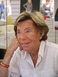 Benoîte Groult  (à la Comédie du Livre de Montpellier, 2010)