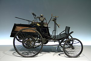 "English: Benz Patent-Motorwagen ""Velo&quo..."