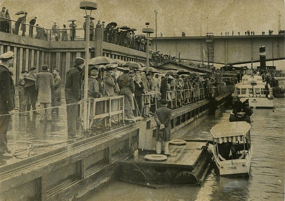 Beogradsko Savsko pristanište, sedamdesete godine 20. veka