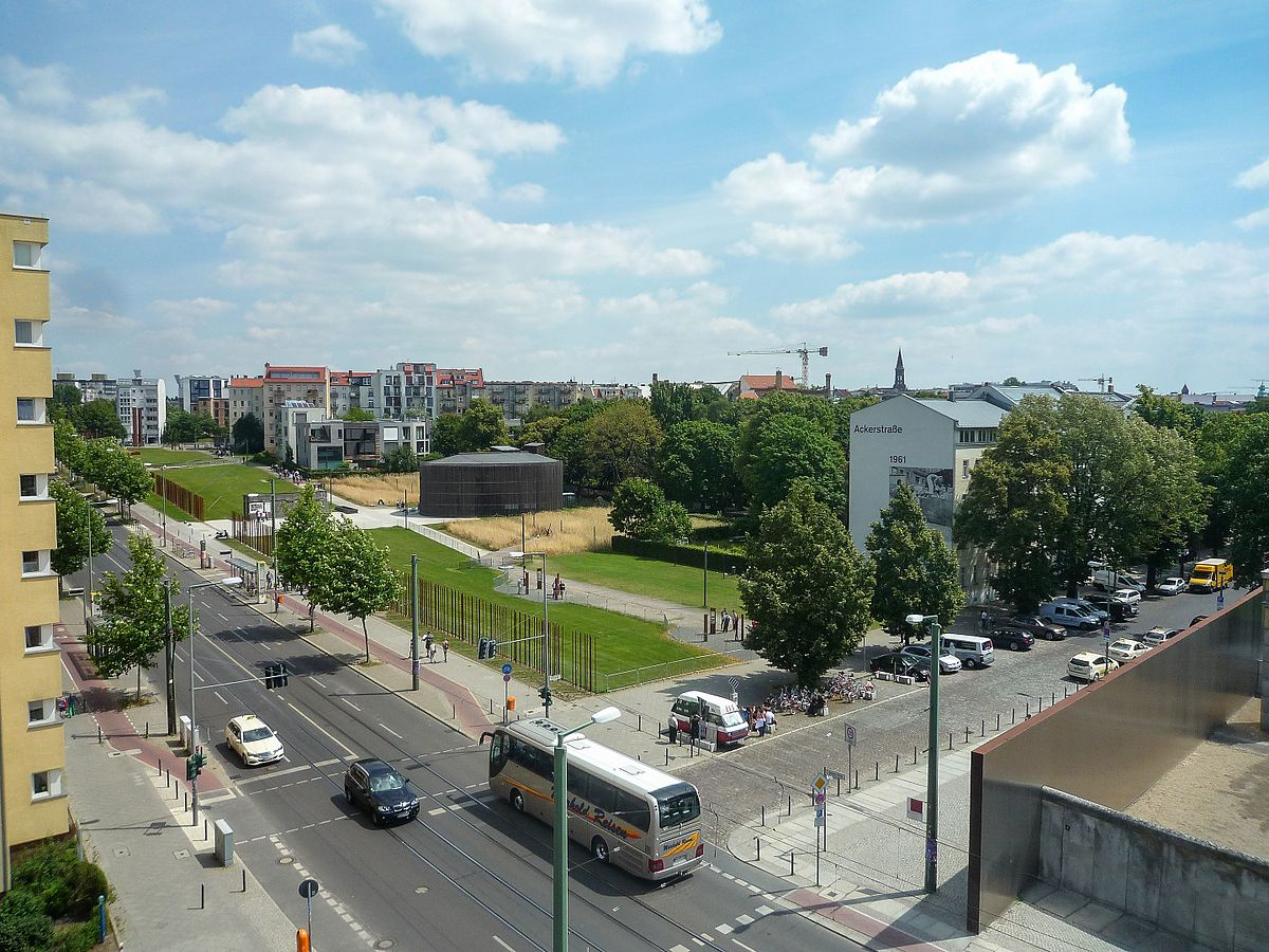 Gedenkstätte Berliner Mauer – Wikipedia