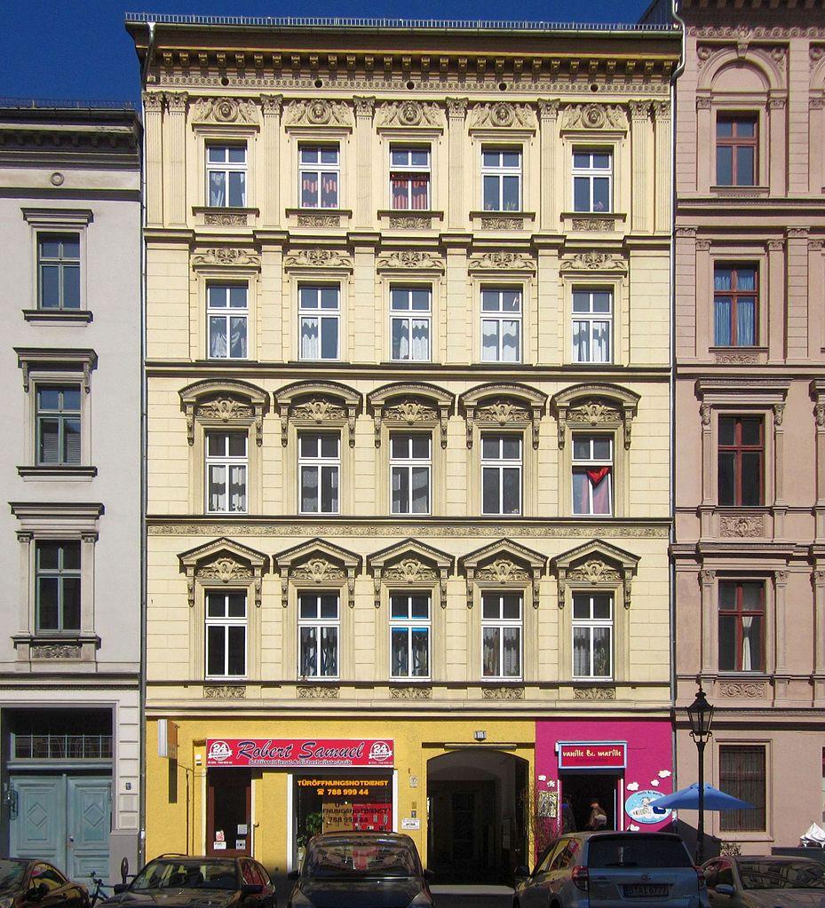 datei berlin kreuzberg hagelberger strasse 1 mietshaus. Black Bedroom Furniture Sets. Home Design Ideas